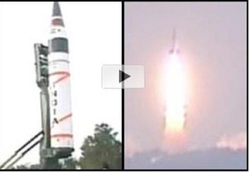 India's Agni-V missile