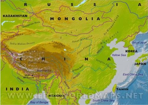 china-map-physical