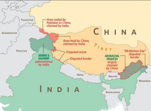 China-India border dispute