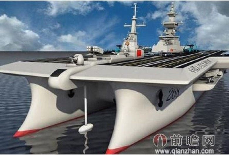 China Said To Be Planning Worlds First 180000 Ton Double Hull Aircraft Carrier on Helicopter Hangar Floor Plan