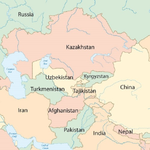 Silk-Road-Economic-Belt_map