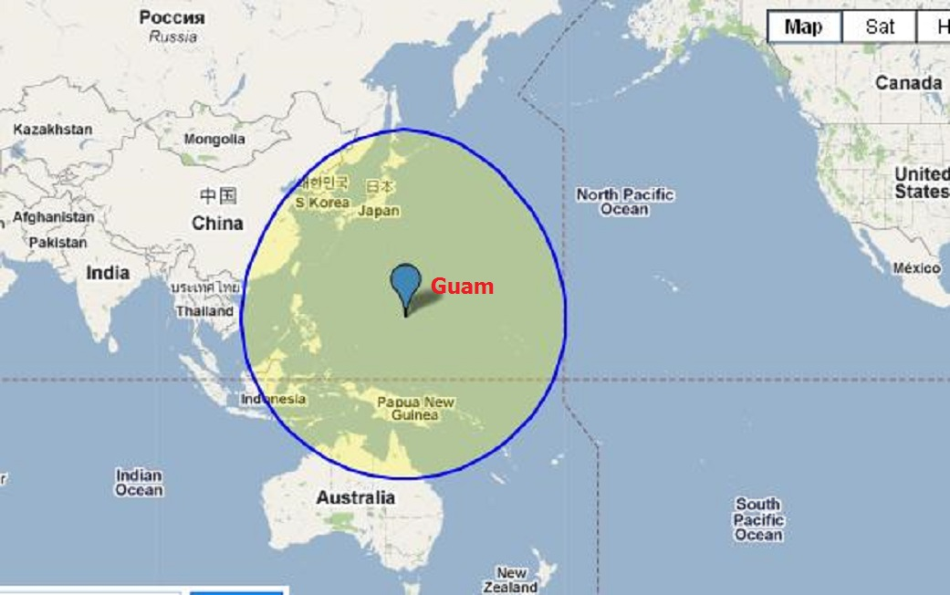 Chinese h 18 stealth bombers nuclear weapons can reach guam 2400 mi radius of guam gumiabroncs