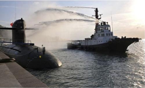 PRC submarine