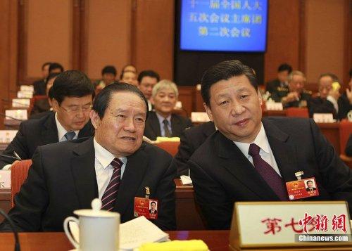 Zhou Yongkang & Xi Jinping