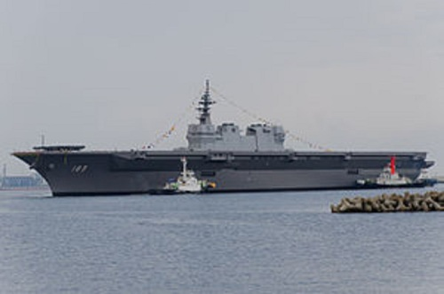 Japan's Izumo-class helicopter carrier