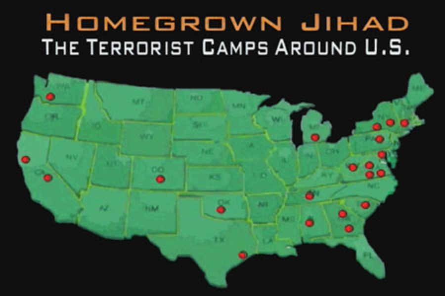 Texas Police Officers Are Members Of Mahmoudberg Jihadist Compound - Isis Training Camps In Us Map