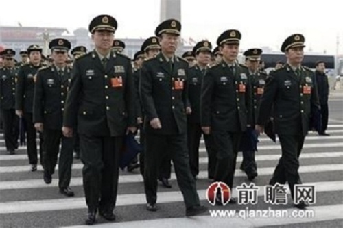 PLA officers