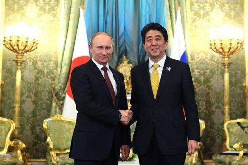 Putin and Abe