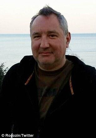 Russia's Deputy Premier Dmitry Rogozin