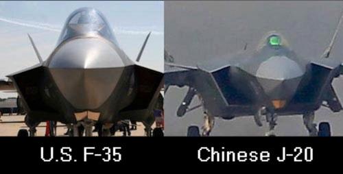 F-35 J-20