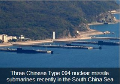 Chinese nuke subs
