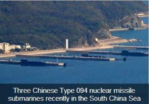 Chinese nuke subs