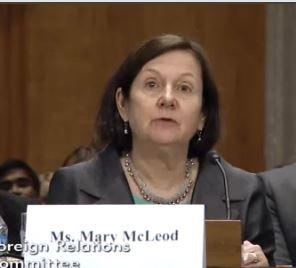 Mary McLeod, State Dept.