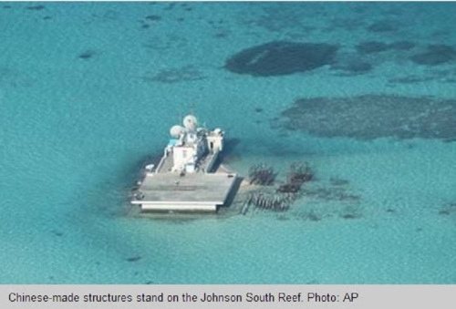 Chinese artificial island in South China Sea