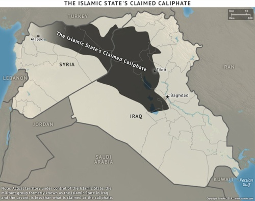 ISIS's caliphate