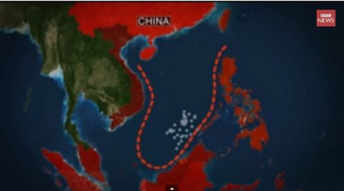 South China Sea - China's claim