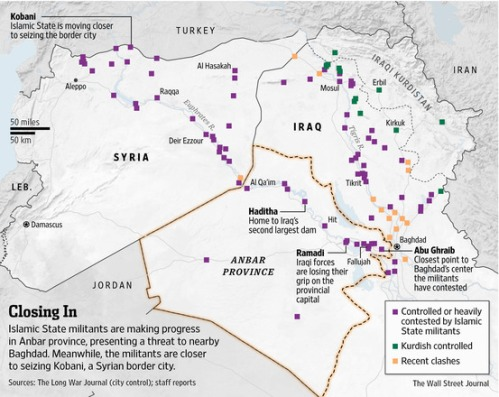 Islamic State advances