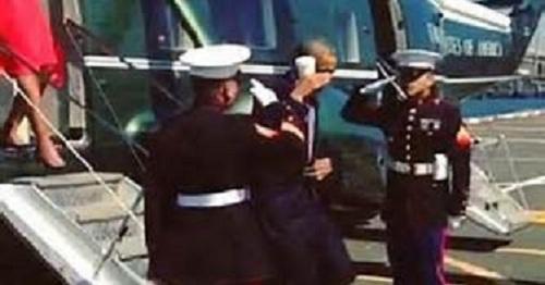 Obama disses Marines