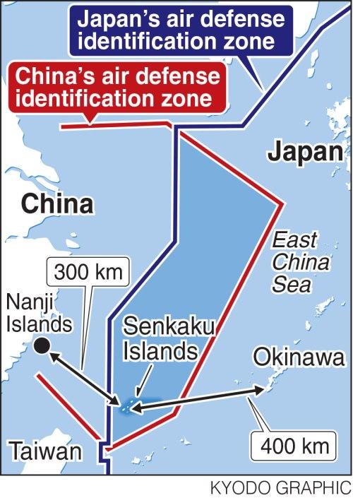 China vs. Japan ADIZs
