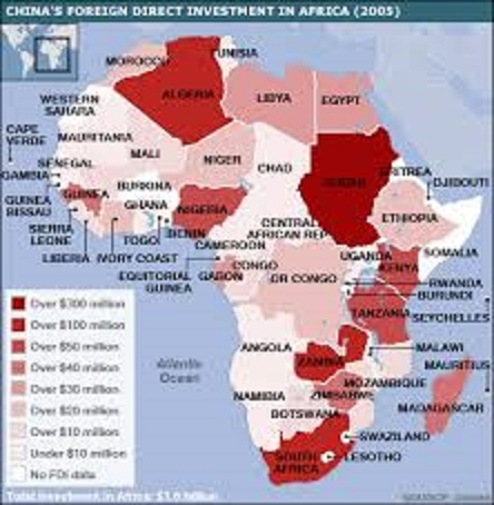 China's FDI in Africa 2005