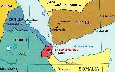 Bab al-Mandah straits