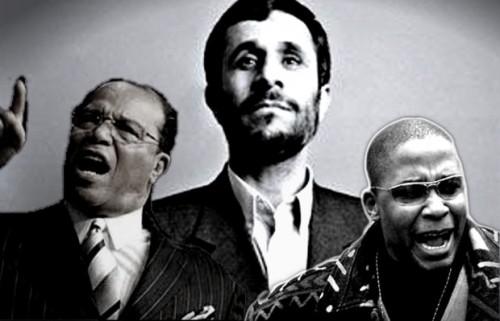 Louis Farrakhan, Mahmoud Ahmadinejad & Malik Shabazz