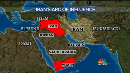 Iran's arc of influence