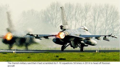 Danish F-16s