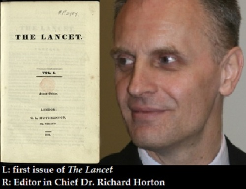 The Lancet first issue