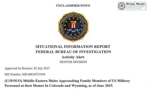 FBI alert