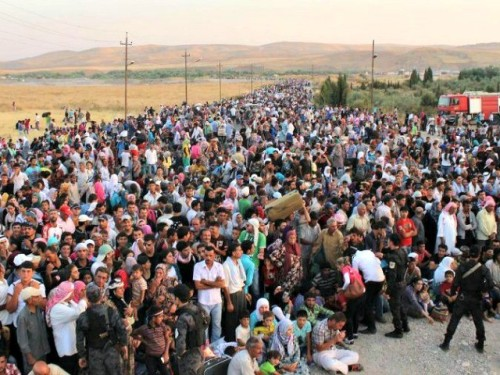 Mideast-Iraq-Syrian-Rrfugees