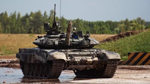 T-90 tank