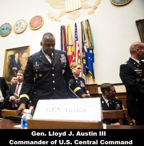 Gen. Lloyd J. Austin III, commander of Centcom