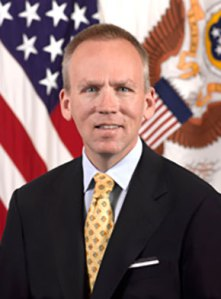 Brad Carson, appointed by Obama